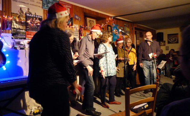 concert de Noël 2016 au studio
